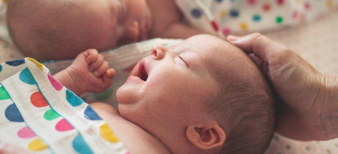 Neugeborenes, Newborn, Zwillinge